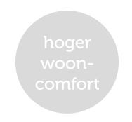 Hoger wooncomfort